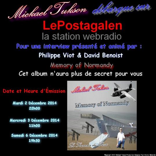 Promotion de Memory of Normandy sur LePostagalen