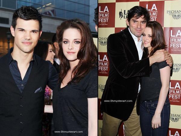 """Kristen et Taylor se sont rendus le 21 juin à l'avant première du film """"A Better Life"""" de Chris Weitz à Los Angeles."""
