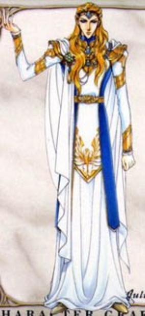 Julius, Gardien de la Lumière, représentant la Fierté