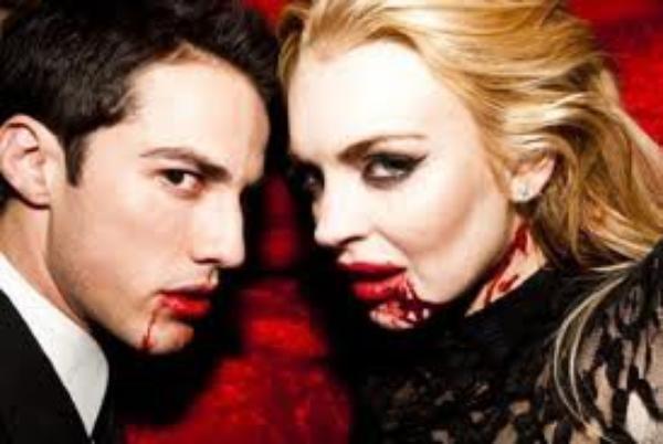 Michael Trevino et Lindsay Lohan