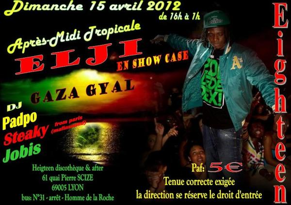 Elji & Uncle Sthene en Showcase ce dimanche a Lyon!!!!!!!!