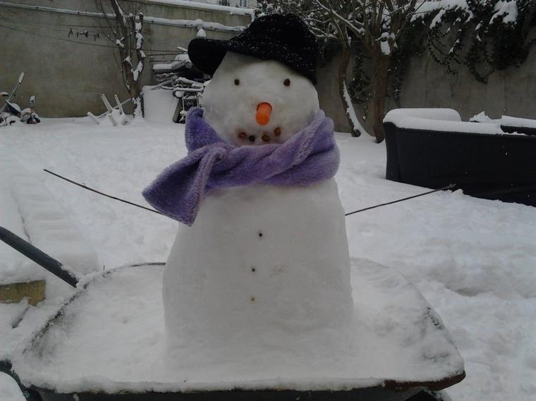 lee le bonhomme de neige by moi =)