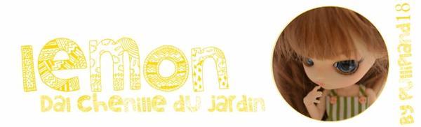 ♥Ma première dal♥Lemon♥Dal chenille du jardin♥