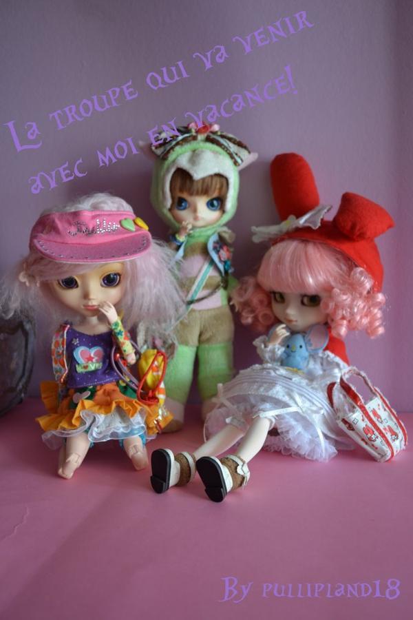 Les dolls qui vont partir avec moi♥