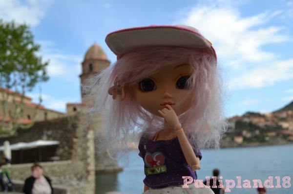 Pandore en vacances!:)