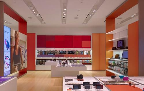Redesigning a retail store a big shift