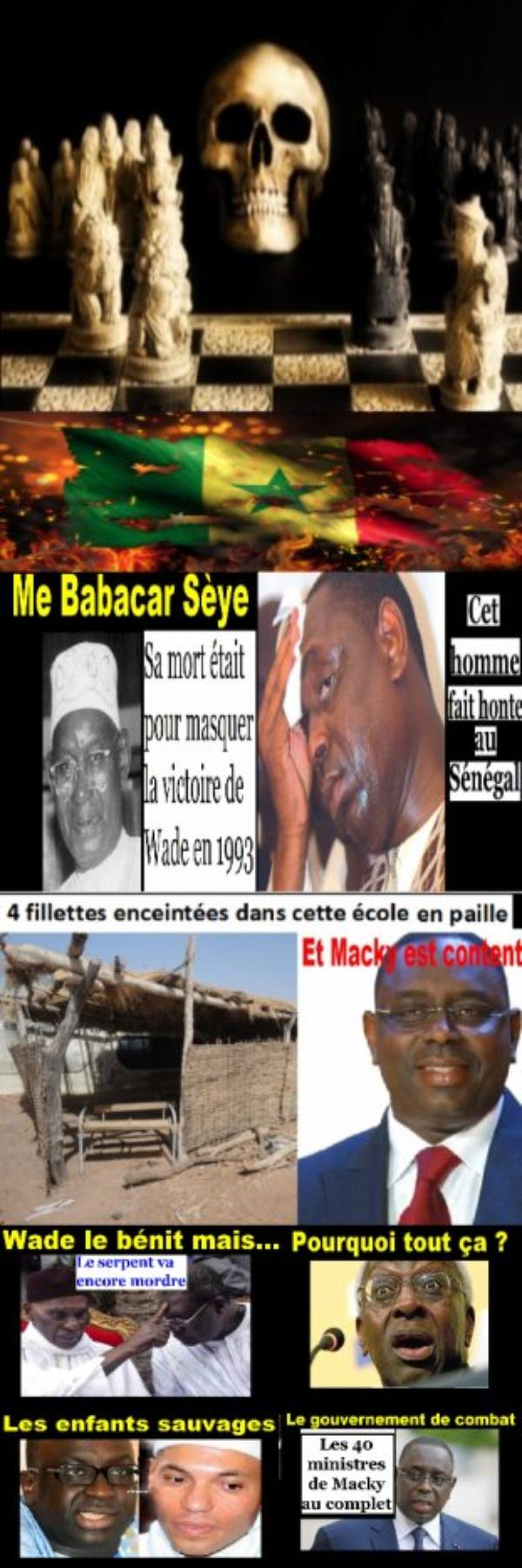 The winner of evil is about to be defeated. Why is he about to be defeated? Because it is better to choose to be defeated, than choosing winner and unjust!     Macky sall found guilty ... ! ! ! !