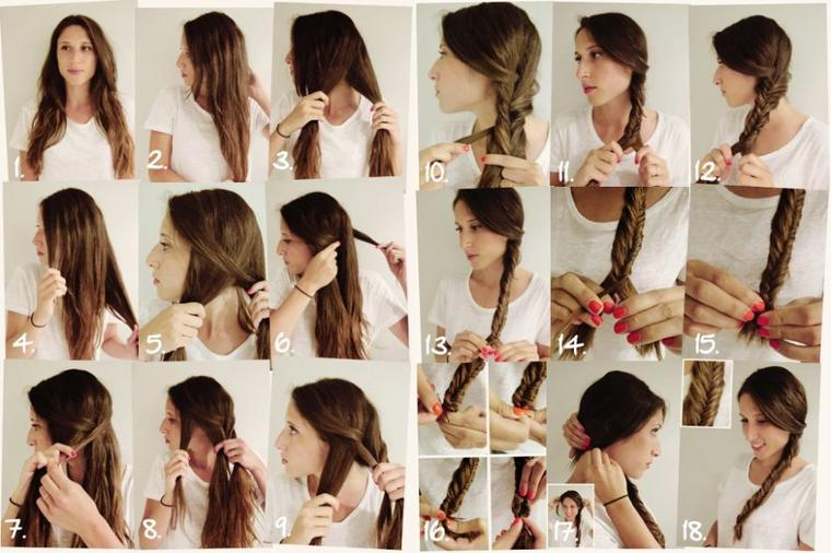 Les types de coiffures