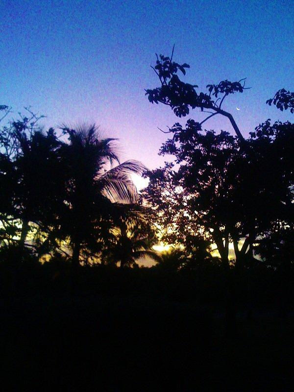 C'est l'aube aux Bahamas