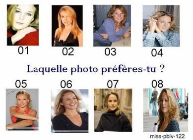 Quelle Photo Préfères - tu ?