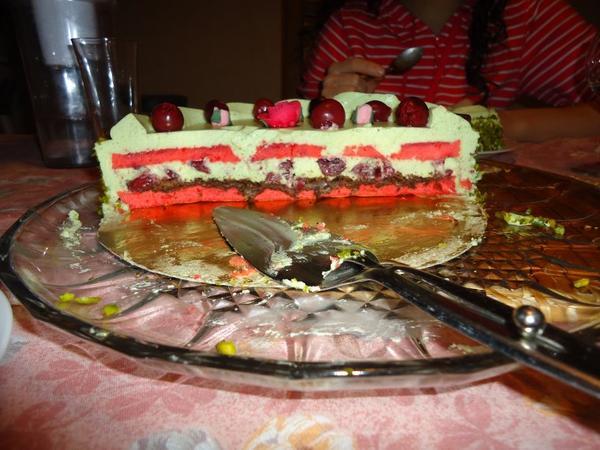Le Beau et Bon gâteau d'anniversaire de ma mère ^^