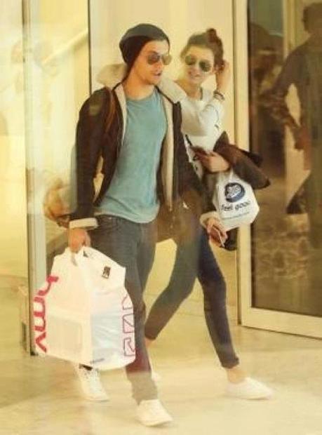 Louis & Eleanor à Nice.