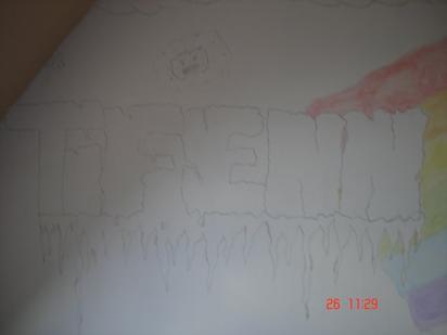 mur de ma chanbre refait :)