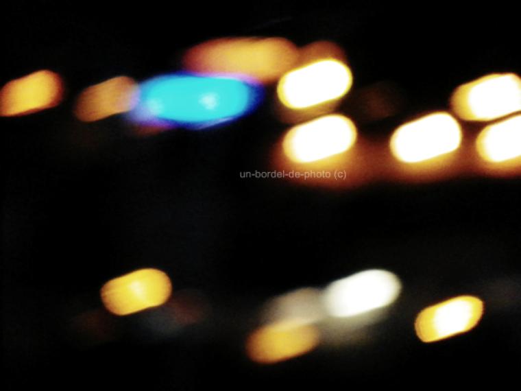 All of the lights Cop lights, flash lights, spot lights Strobe lights, street lights (8)