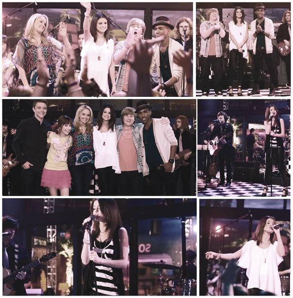 """Selena lors de la série """" Sonny"""", sur son titre """"Who Says"""" elle a chantee ! regardez ( ici ) ."""
