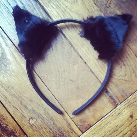 Diy ♥ halloween- black cat