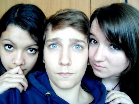 Le trio des Meilleurs, et oui. (a) ❤❤