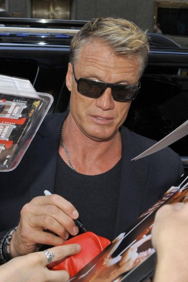 Dolph Lundgren ♥ Elu l'acteur le plus sexy du monde en mai 2014 :D