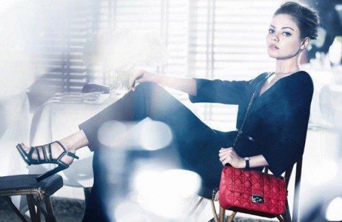 Mila Kunis la nouvelle égérie de Dior.