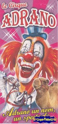 Flyer du Cirque Adrano-2011 (n°85)