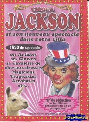 Flyer du Cirque Jackson-2011 (n°84)