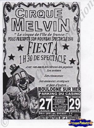 Flyer du Cirque Melvin-2010 (n°29)