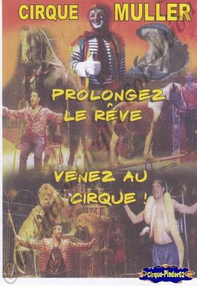 Flyer du Cirque Muller (n°62)