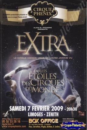 Flyer du Cirque Phénix-2009 (n°56)