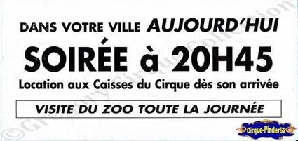Flyer du Cirque Amar-2002 (n°137)