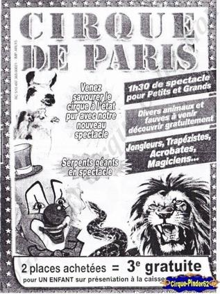 Flyer du Cirque de Paris-2012 (n°173)