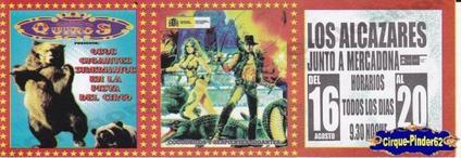 Flyer du Circo Quiros (n°194)