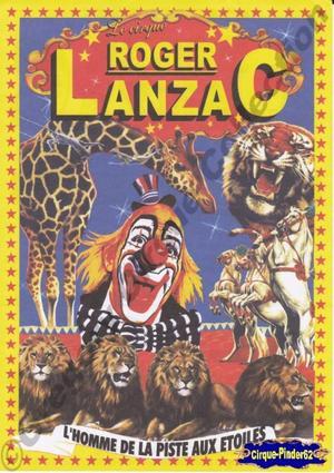 Flyer du Cirque Lanzac (Roger)-2009 (n°250)