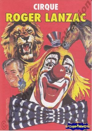 Flyer du Cirque Lanzac (Roger) (n°246)