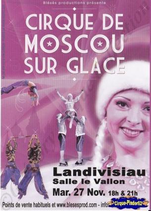 Flyer du Cirque de Moscou sur Glace (n°334)