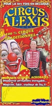 Flyer du Circus Alexis (n°365)