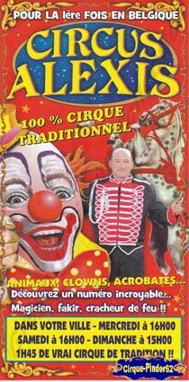 Flyer du Circus Alexis (n°364)
