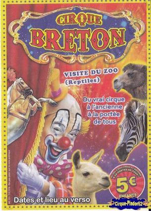Flyer du Cirque Breton (n°420)