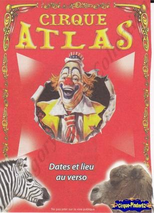 Flyer du Cirque Atlas-2013 (n°442)