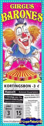 Flyer du Circus Barones-2012 (n°506)