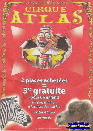 Flyer du Cirque Atlas-2013 (n°446)