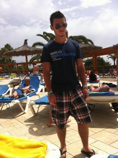 Moi à Fuertaventura (canaries)
