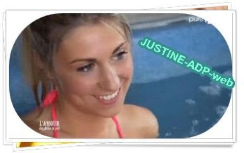 Tous les lundis soirs, Justine commente en direct l'émission sur Twitter