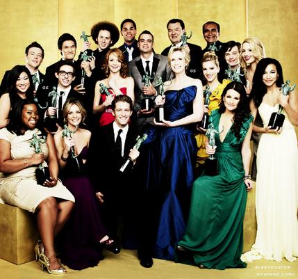 Glee ,Une série de nombreuses fois récompensée.