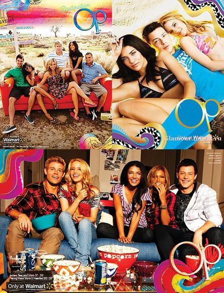 "Le casting de Glee dans ""Op"""