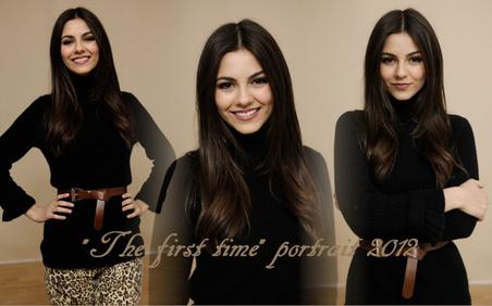 "Victoria Justice pose pour ""The First Time"""