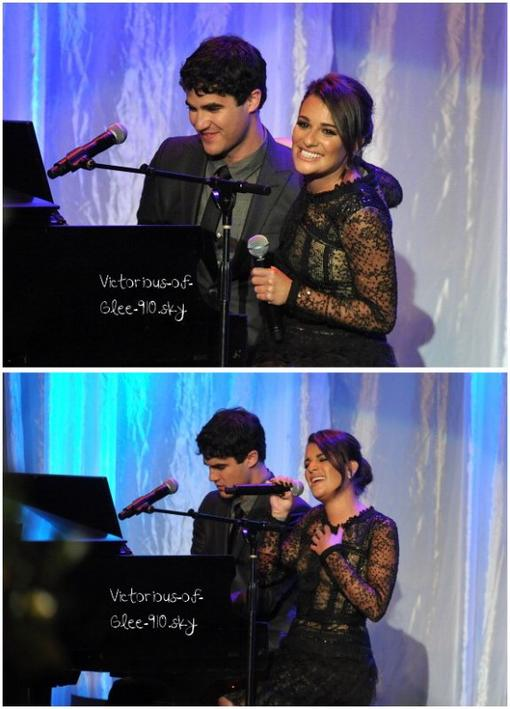 """Lea ,Darren et Ryan Murphy à """"Taste For a Cure"""" par la fondation Jonsonn le 20 avril!!"""