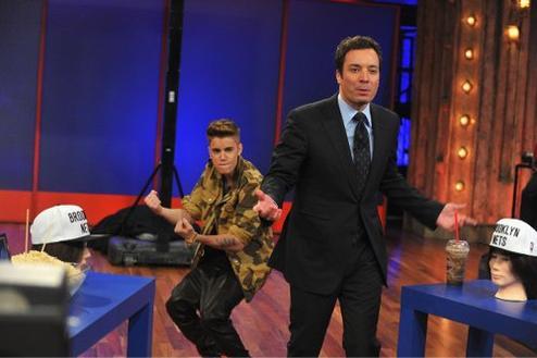 Justin et Jimmy Fallon.