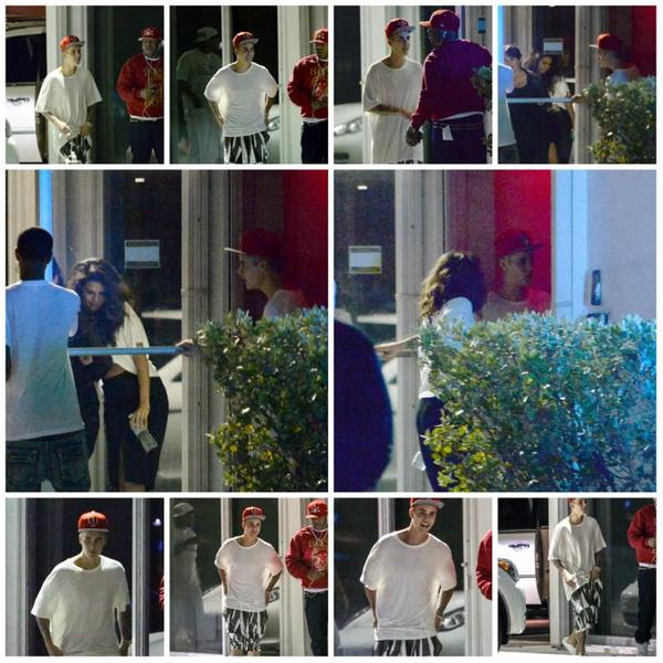 07.04 - Justin sort d'un studio d'enregistrement, Miami