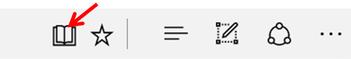 """Lire """"confortablement"""" un article avec le navigateur Edge - Windows 10."""