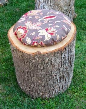 Astuces pour recycler une vieille souche d'arbre.